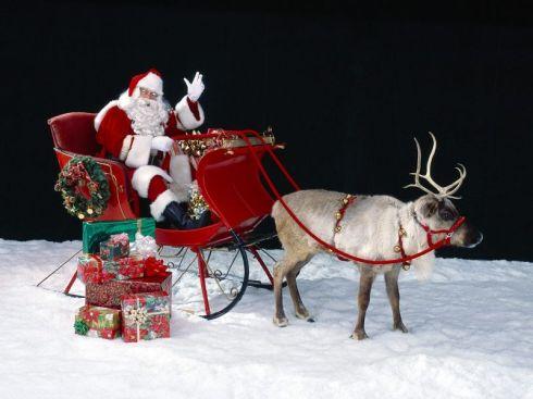 Santa Claus Trineo