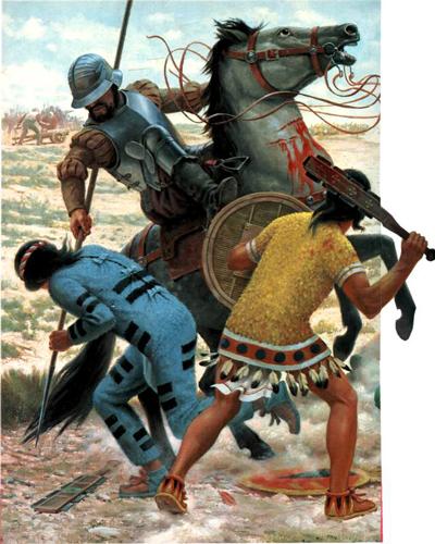 ... colonización de la Nueva España , el término de CONQUISTADOR