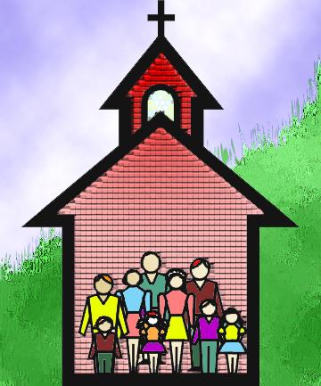 Iglesia católica apostólica romana, es la iglesia cristiana de mayor